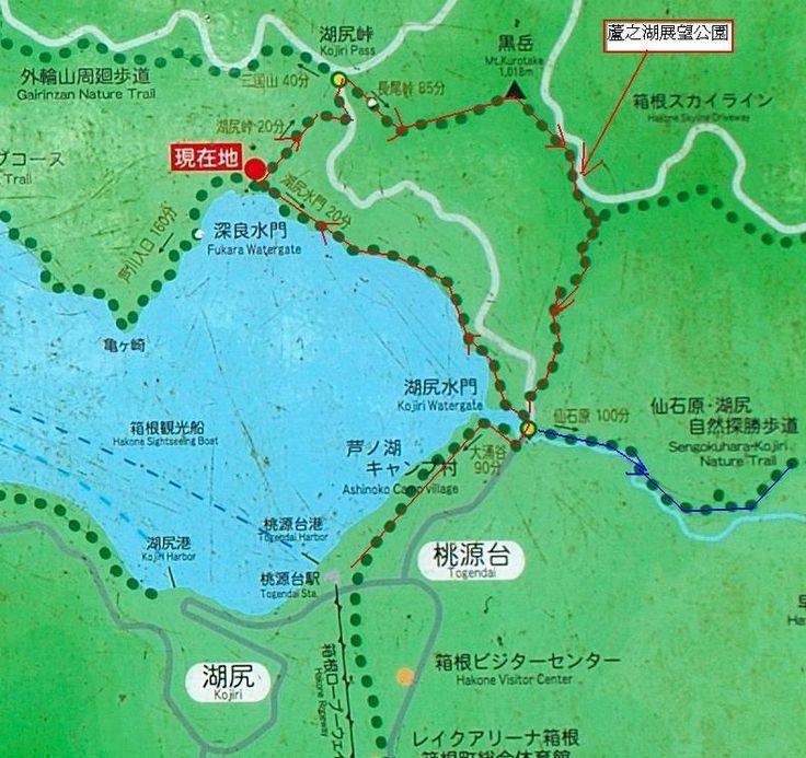 箱根蘆ノ湖展望公園一日遊 | Map
