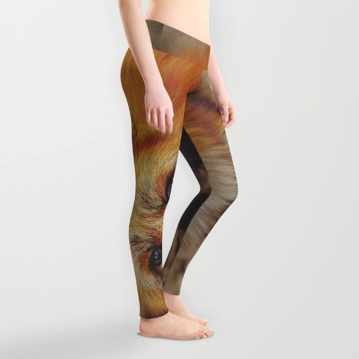 Fox Leggings by Mixed Imagery   Society6