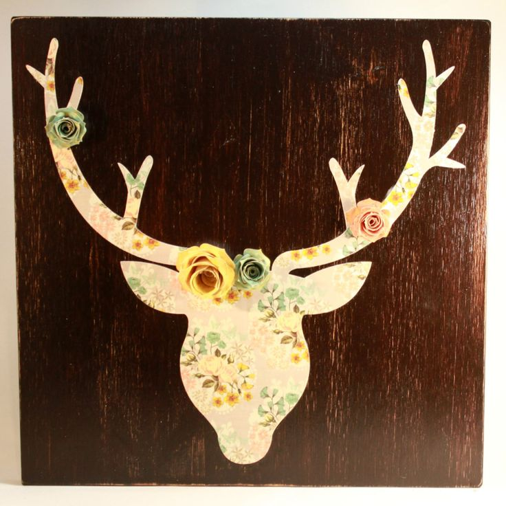 Amazing Wood Antlers Wall Decor Photos   Wall Art Design .
