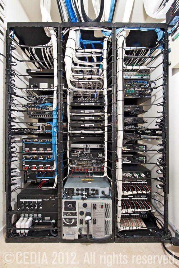 data center rack wiring diagram rack áudio vídeo automação | server | pinterest | cable ... #3