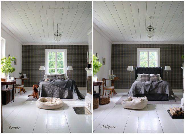 Domargård - Villa Olivia: Syvänapitettu sängynpääty