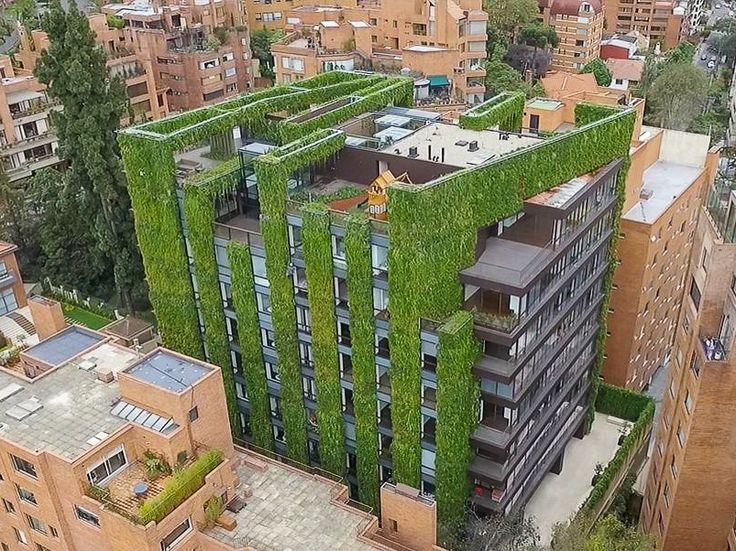 Les 664 meilleures images du tableau ville vegetale sur pinterest architecture paysages et - Immeuble vegetal ...