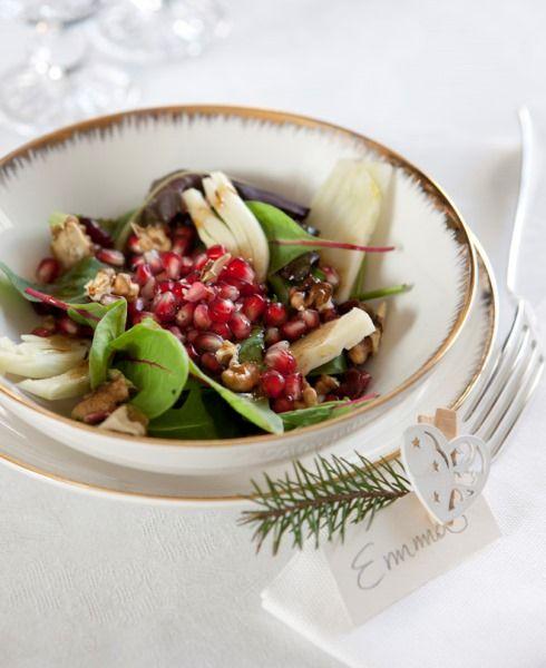 Questa ricetta contiene la melagrana ed è di buon augurio per l'anno a venire – la trovo perfetta come leggero antipasto per il cenone di Capodanno!