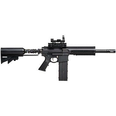 Tiberius Arms T4 Rifle Paintball Gun by Tiberius Arms. $899.95. The Tiberius Arms T4 Rifle Paintball Marker is built for the paintball sniper! The Tiberius T4.1 Rifle is a dedicated paintball rifle platform, equipped to use Tiberius Arm's patented 10 or 14 round magazines or a standard hopper. The Tiberius T4.1 features an integrated 13ci/3000psi tank/stock combo or you have the option of using 12 gram C02 in the magazine to maintain the most compact profile availa...