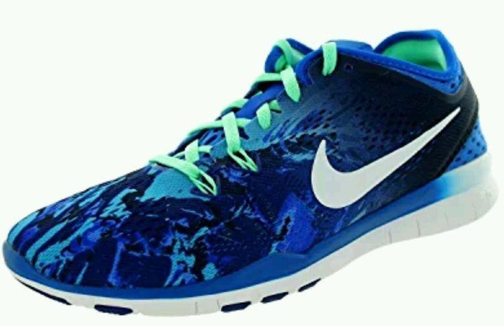 NIKE FREE 5.0 WOMEN'S SHOES RUNNING TRAINING ATHLETIC BLUE NEW #Nike #RunningCrossTraining