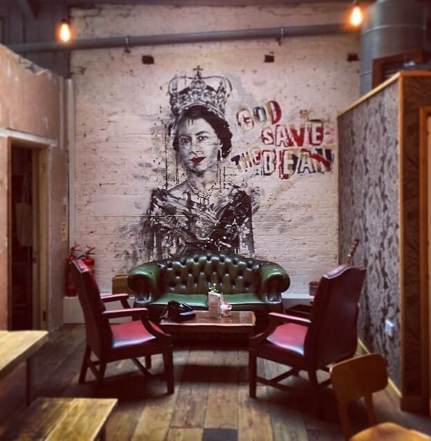 59 best shop interior exterior graffiti images on for Mural coffee