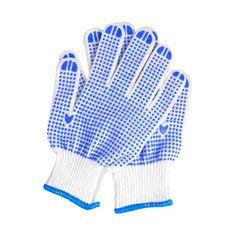 #Banggood Защита труда против Skid Износостойкие перчатки синий пластиковые перчатки Dot легкий удобный сад (1127941) #SuperDeals
