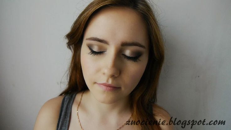 champagne makeup