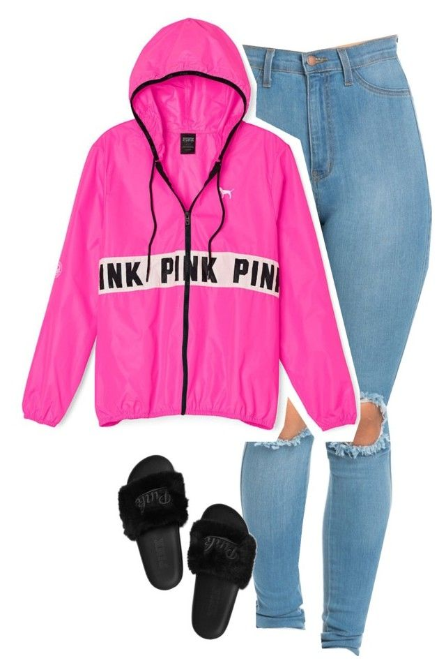 """""""Untitled #174"""" by outfits2dope ❤ liked on Polyvore featuring Victoria's Secret PINK"""