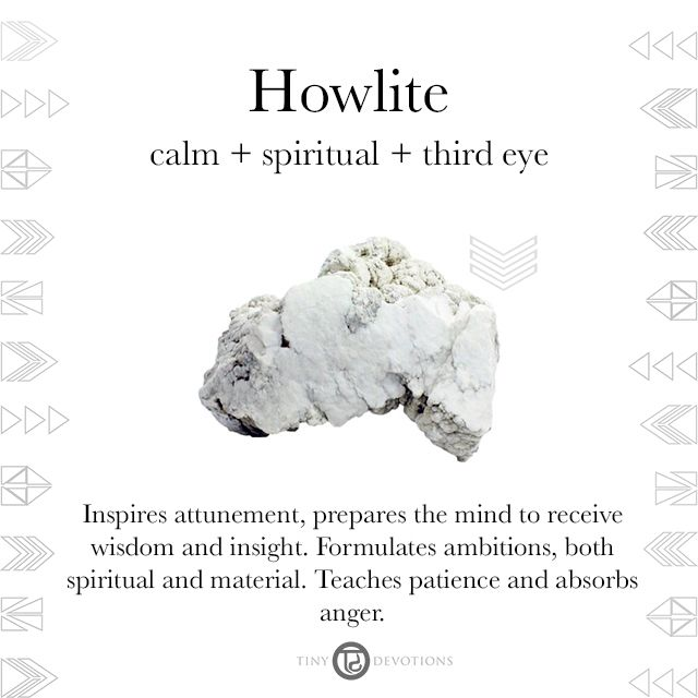 Howlite Gemstones Amp Sacred Materials Tiny Devotions