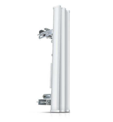 Ubiquiti Airmax 5GHz 19dBi 120 degree Sector Antenna by Ubiquiti. $144.65. Ubiquiti's Antenna R team applied their years of experience in cellular basestation antenna design in developing the revolutionary AirMax BaseStation and Backhaul antennas. Exhibiting gain, beam characteristics, and multi-polarity performance never before seen in wireless ISP markets. Patent-pending next-generation technology achieves gain, cross-pol isolation, and beamshaping characteristics r...