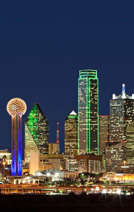 dallas skyline at night | dallas-skyline