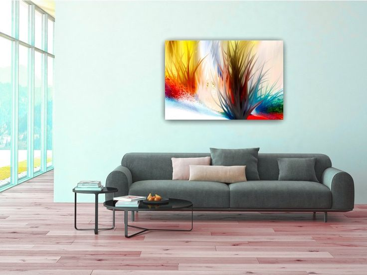 ID22 Large Abstract Seascape/Landscape.  Modern wall art, home or office decor. Affordable Art. Instant download. Digital printable art. by ElcoStudio on Etsy