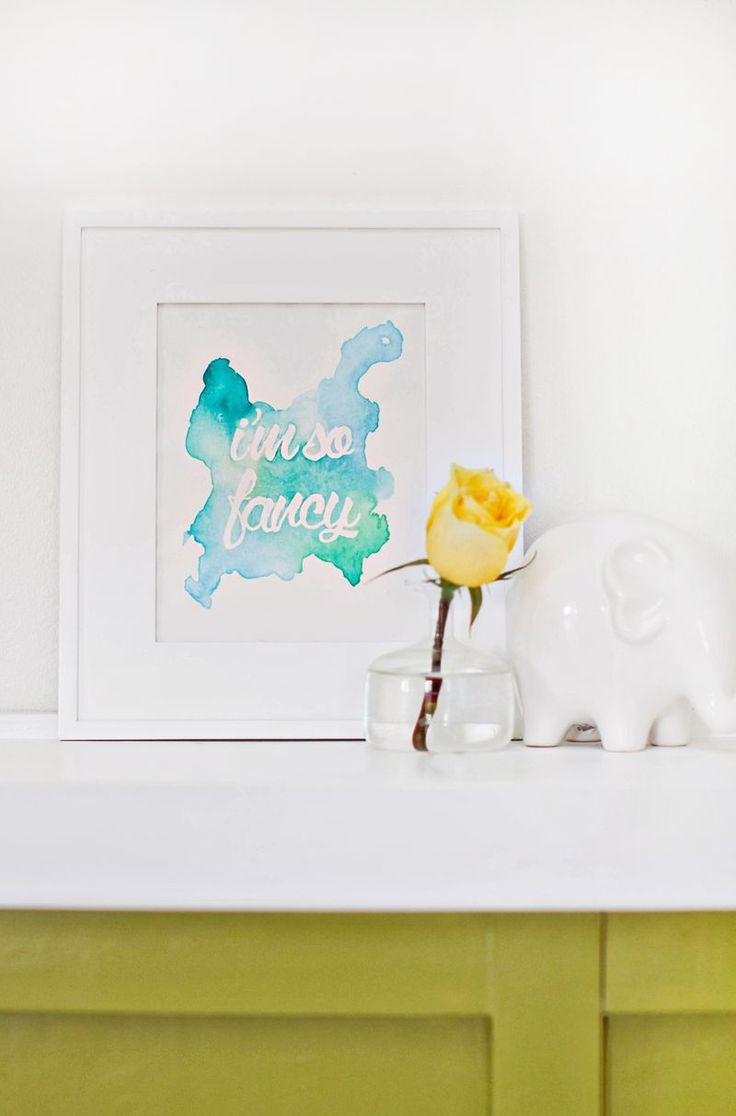 236 best diy canvas art images on pinterest artists crafts and live watercolor phrase wall art diy click through for tutorial amipublicfo Images