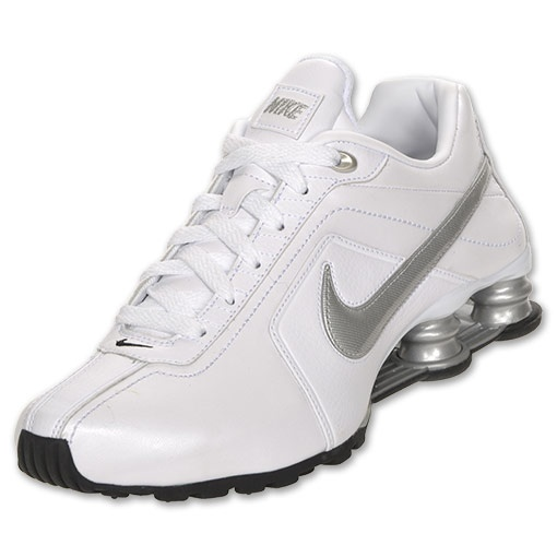 Fall/Winter Nike Shox Conundrum 407989-100 White / Metallic Silver-Black   Nike   Womens   2011