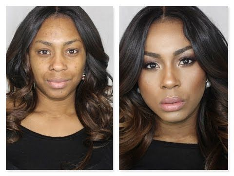 FOUNDATION HIGHLIGHT AND CONTOUR ROUTINE  Pinnable Look for sistahs who are Brown Girls. #callingyouout Girl. Fab.