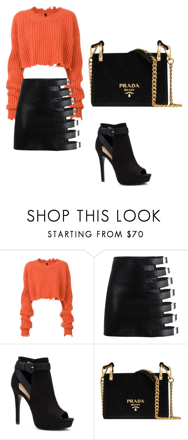 """Untitled #145"" by kim-mj on Polyvore featuring Unravel, Apt. 9 and Prada"