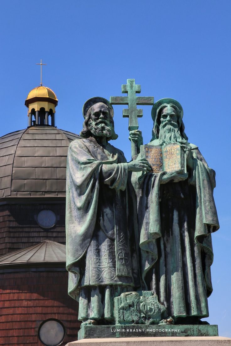 Svatý Cyril a Metoděj  - Radhošť  - Beskydy - Czech republic  Foto: k.lumir@seznam