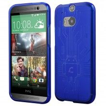 Forro HTC One M8 Cruzerlite Bugdroid Circuit Azul $ 37.800,00