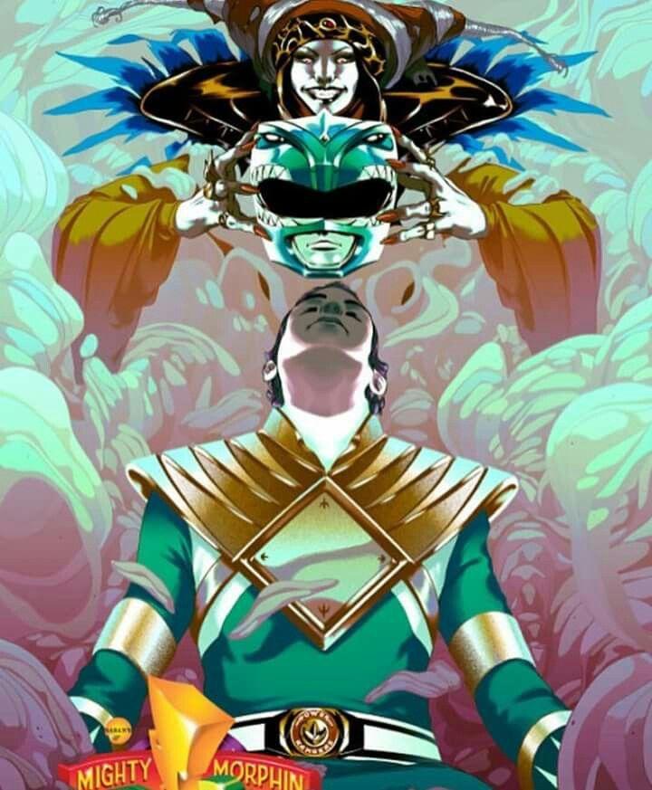 The evil Green Ranger #SonGokuKakarot