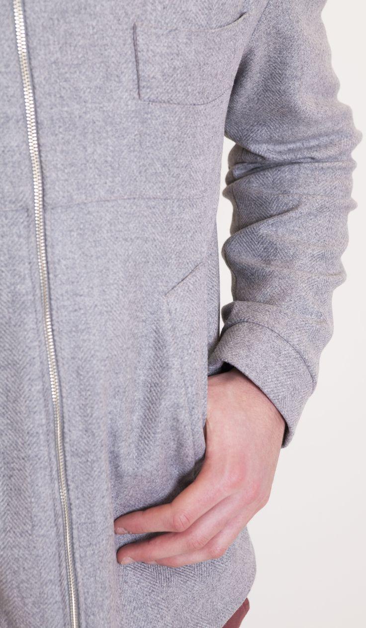 #TheHeidelberg #Gehrich #Melbourne #Mensfashion #Grey #Italianwoolandcashmere #Pockets #Cuff