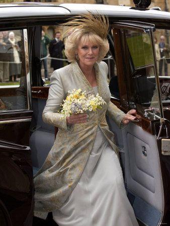 Camilla at her wedding....