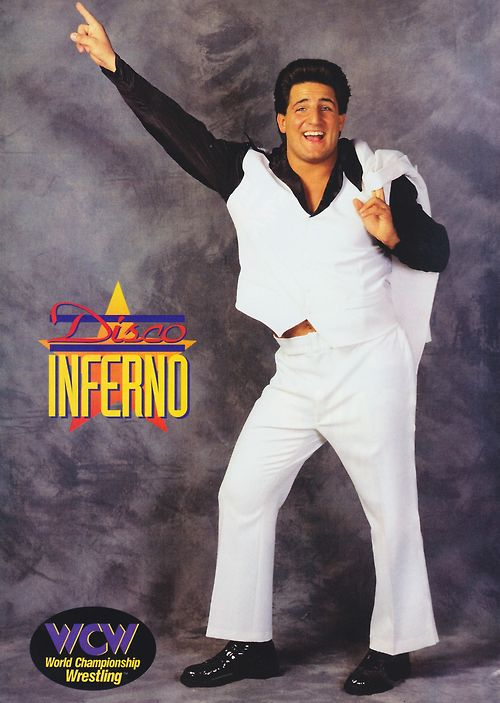 Disco Inferno WCW Pinup Poster (1996)