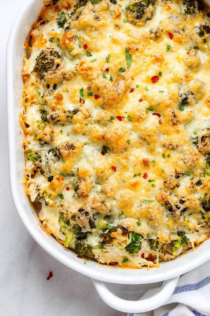 Broccoli Chicken Casserole With Cream Cheese And Mozzarella  Recipes  Chicken Broccoli -9927