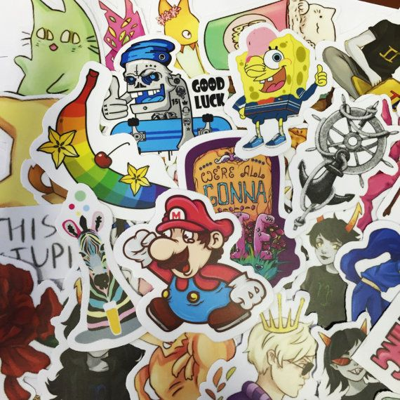 Welcome !  We sell original stickers made by artists from all over the world…