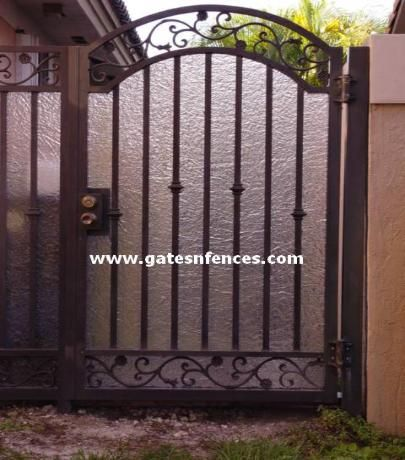 Metal Privacy Gate Plexiglass Driveway Gates Garden Iron To Design Ideas