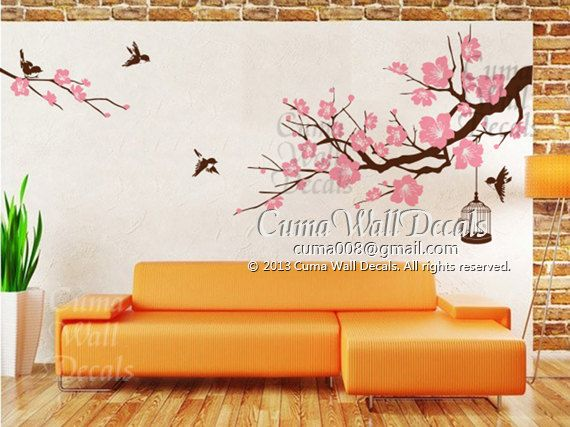 Best Wall Decals Images On Pinterest Vinyl Wall Decals Wall - Custom vinyl wall decals flowers