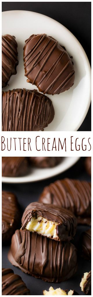 Homemade Butter Cream Eggs are PERFECT for Easter! Only 8 ingredients. #finlandiaeaster #spon