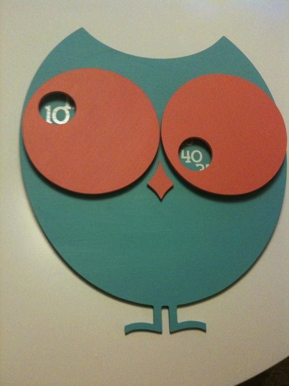 owl clock. This is AWESOME!!