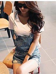 Dambyxor  ( Denim ) Jeans  -  Opaque/Mellan  -  Mikro-elastiskt