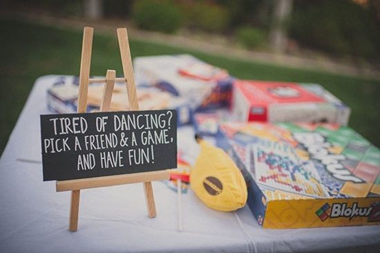 Keeping the kids from getting bored at weddings is possibly one of the most difficult tasks there is in planning your wedding and one that is often overlooked. You can help out the Moms and Dads coming to your wedding by making fun activities for kids to do, providing games, or even just set up somewhere they can watch movies all day.