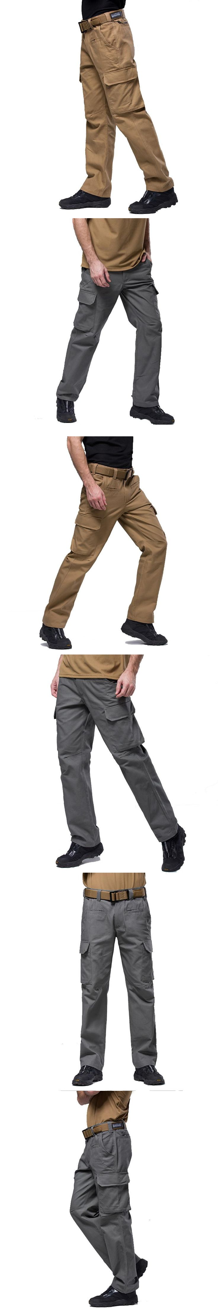 High Quality Outdoors Loose Breathable Military Pantalon Homme Army Combat Tactical Multi-pocket Cargo Pants Men Casual Trousers