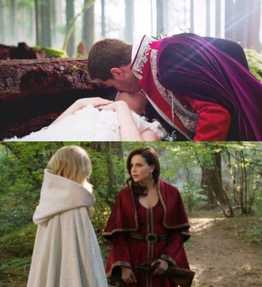Coincidence? I THINK NOT!!! / Swan Queen / Once upon a time / OUAT / Regina Mills / Emma Swan / Snowing