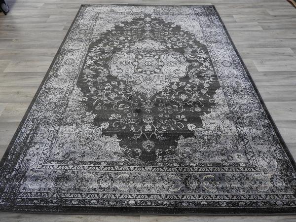 Viscose Silk Antique Faded Look Rug Size: 160 x 230cm