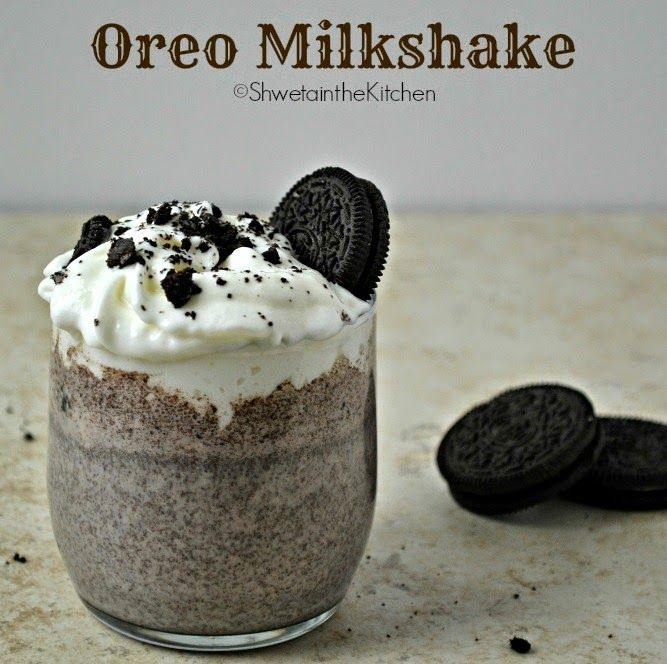 Make your day decadent with this easy Oreo milkshake recipe!
