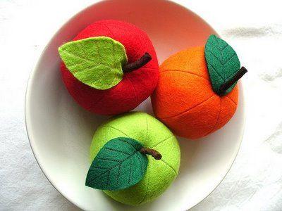 Fieltromanía: Frutas de verano(versión fieltro)