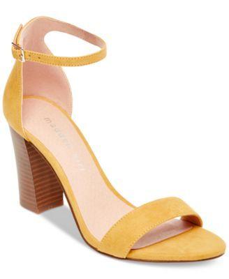 ff69fb5fb80 Bella Two-Piece Block Heel Sandals in 2019
