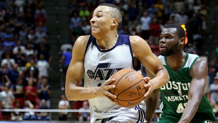 Sources: Jazz guard Exum might miss season  ||  Jazz guard Dante Exum, who averaged 6.2 points last season, suffered a separated left shoulder and ligament damage and could miss the season, sources told ESPN. http://www.espn.com/nba/story/_/id/20944878/utah-jazz-pg-dante-exum-miss-entire-season-separated-shoulder?utm_campaign=crowdfire&utm_content=crowdfire&utm_medium=social&utm_source=pinterest