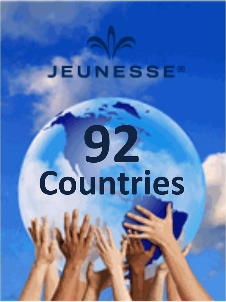 """""""Jeunesse® Global is today in over 92 countries in just over four years."""" - Scott Lewis - Chief Visionary Officer"""