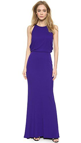 BADGLEY MISCHKA Badgley Mischka Collection Women'S Drape Back Jersey Gown. #badgleymischka #cloth #