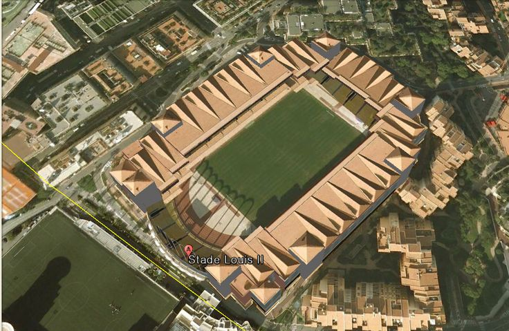 Stade Louis II i love this staium a lot