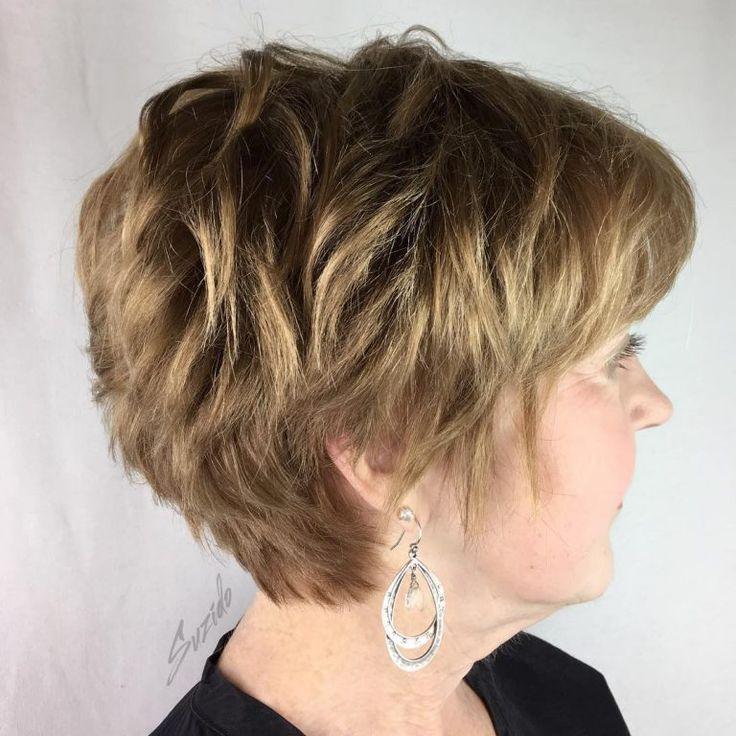 Tagli di capelli corti, classici e semplici per le signore ...