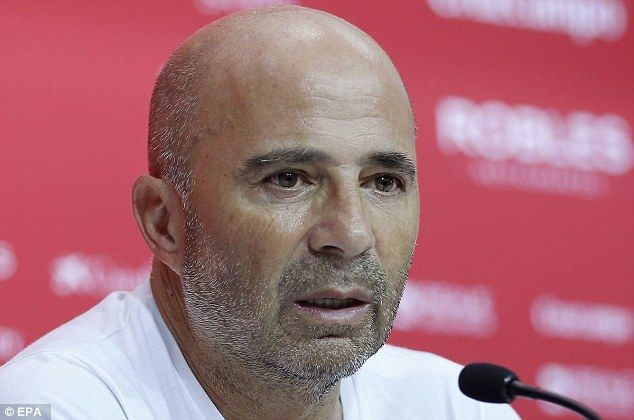 Sevilla boss Jorge Sampaoli relishes Super Cup debut against Real Madrid and vows to 'utterly ...