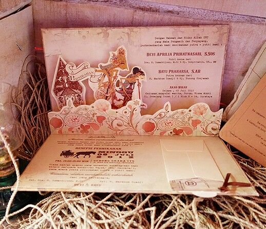 27 best traditional collections images on pinterest indonesia vinas invitation wedding invitation wedding invitation surabaya wedding invitation sydney indonesia wedding stopboris Gallery