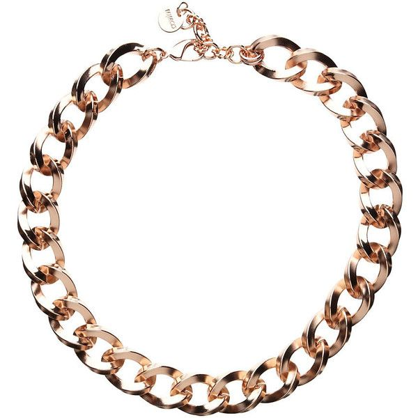 Mimco Nebula Chain Choker ($110) ❤ liked on Polyvore featuring jewelry, necklaces, accessories, rose gold, chains jewelry, chain necklaces, choker jewelry, chain choker necklace and red gold jewelry