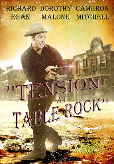 Tension at table rock 1956 dvd front cover pinterest for Table 9 movie